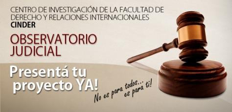 Slide Observatorio judicial- Banner Web