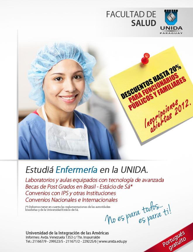 Mails - carrera de ENFERMERIA UNIDA 2 universidad