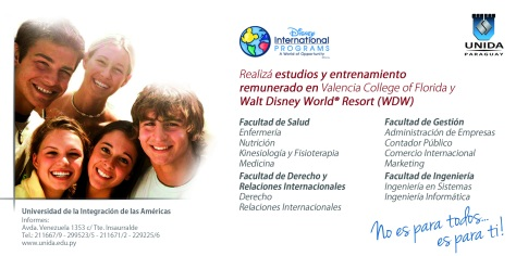 Aviso Afiche - Colegio Apostólico Universidad UNIDA