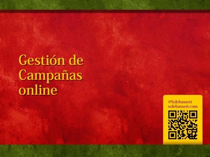 Gestion de campañas online
