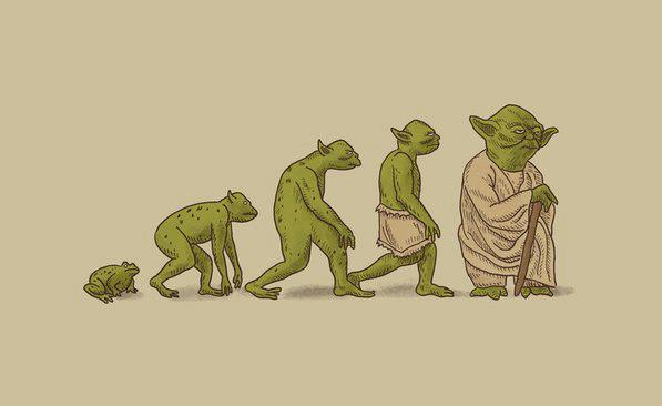 Evolucion Yoda